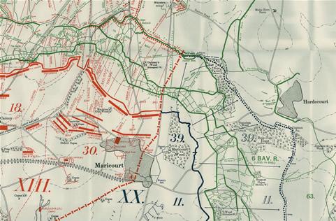 Hardecourt During WW1 ChavasseFarmcouk